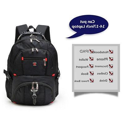 US Men Notebook Rucksack Shoulder Bag
