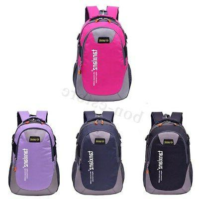US Travel Nylon Backpack Laptop Shoulder Sports Bag