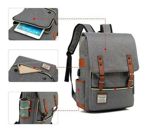 US School Travel Satchel Shoulder Bag