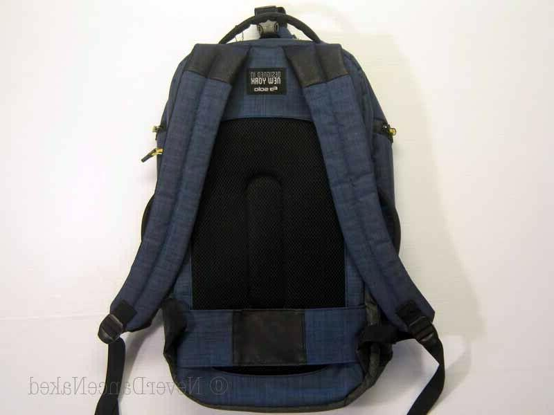 "SOLO BACKPACK DUFFEL 20"" Gray Laptop Compartment iPad NEW"