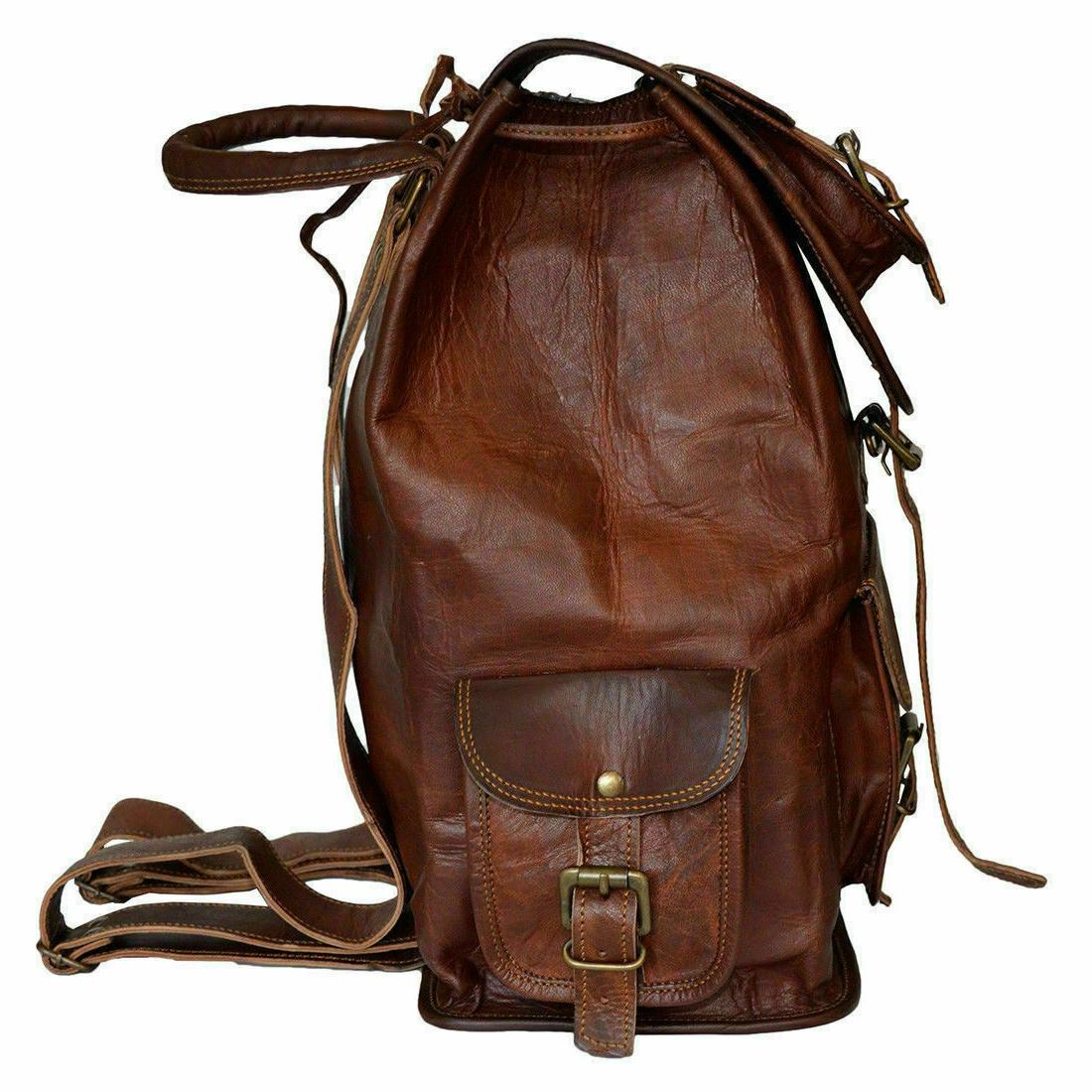 Vintage Backpack Messenger Bag Satchel
