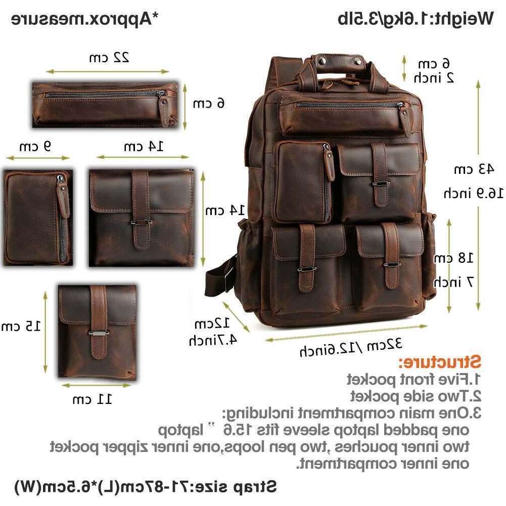 """Vintage Backpack 17"""" Hiking Travel On"""