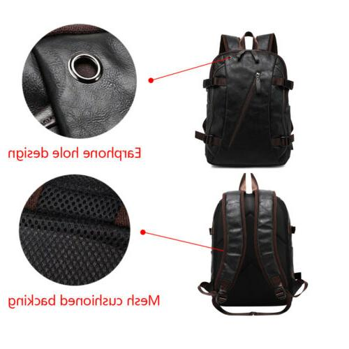 Mens School Satchel Rucksack Shoulder Bag