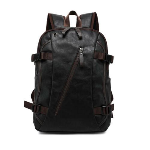 Mens Travel Backpack School Satchel Laptop Rucksack Shoulder Bag