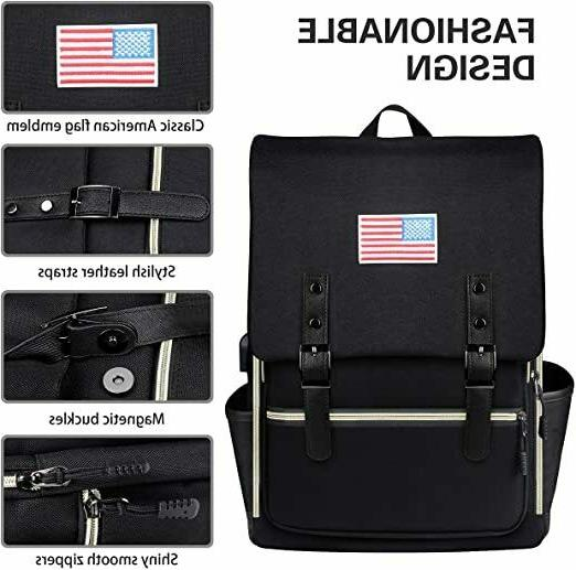Water Laptop Backpack & with USB Men