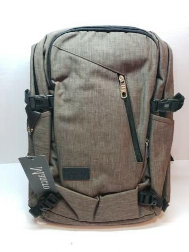 """Mancro Water Restistant Charging Traveling Backpack Laptop Business 15.6"""""""
