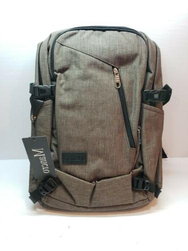 water restistant charging traveling backpack for laptop