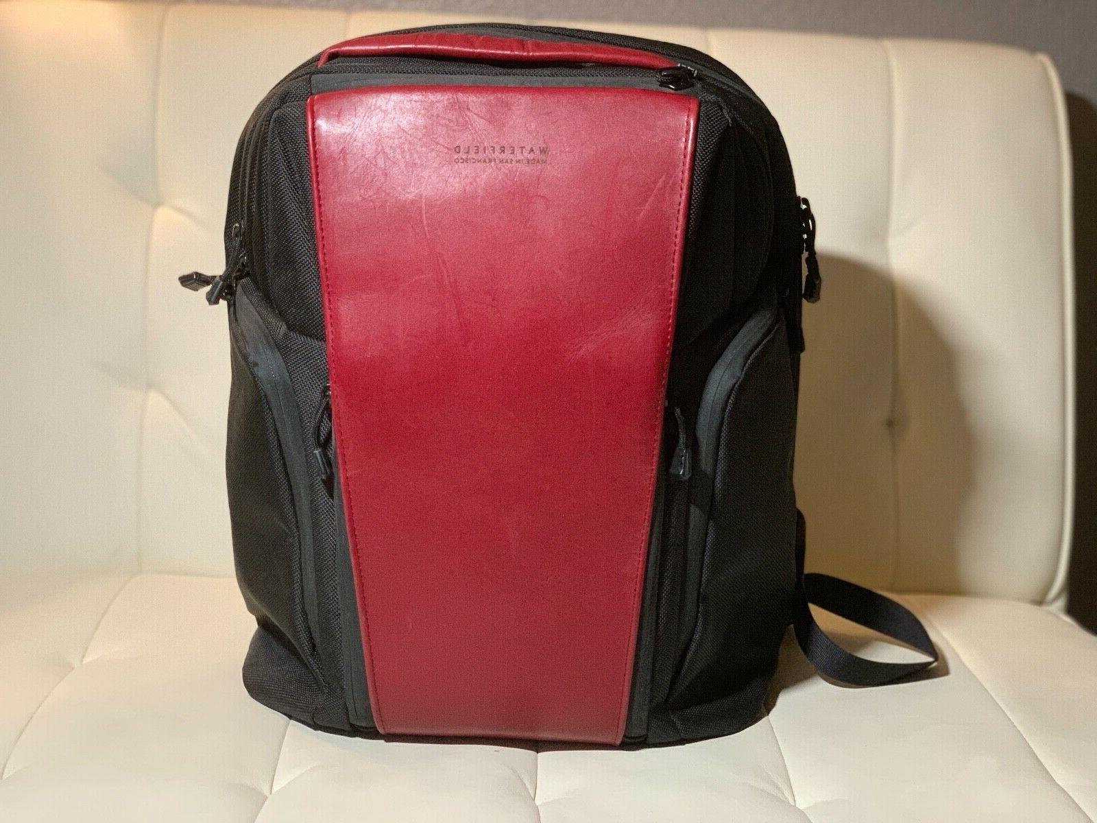 WaterfieldPRO Nylon with Crimson Leather Accent