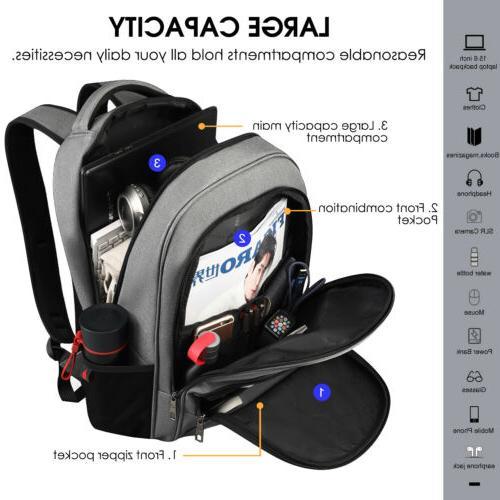 """Waterproof 15.6"""" Heavy-duty Bag USB"""