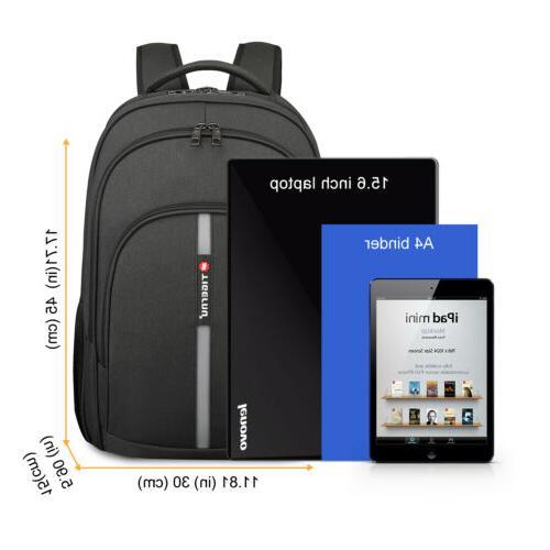 Waterproof Laptop Backpack Heavy-duty Bag USB
