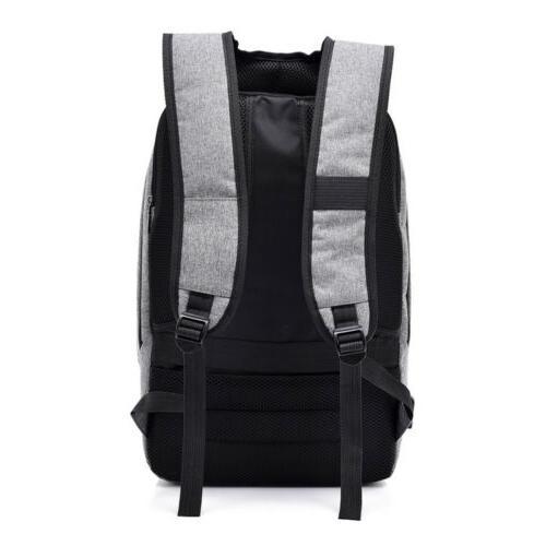 """Waterproof 15.6"""" Laptop Backpack Men Bag Lock"""