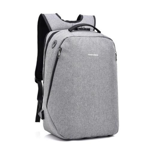 Waterproof Laptop Backpack Men Women Bag + Lock