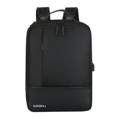 """Waterproof 15.6"""" Laptop Backpack Men Women Travel USB"""
