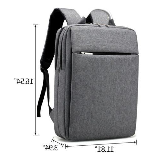 """Men's 15.6"""" Backpack Rucksack Bookbag"""