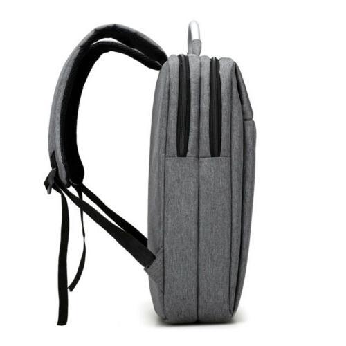 Waterproof Men Laptop Backpack Business Travel Rucksack