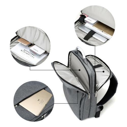 """Waterproof 15.6"""" Backpack School Bag Travel Rucksack"""