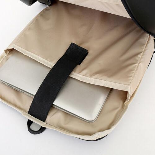 Waterproof Laptop USB Port School Bag