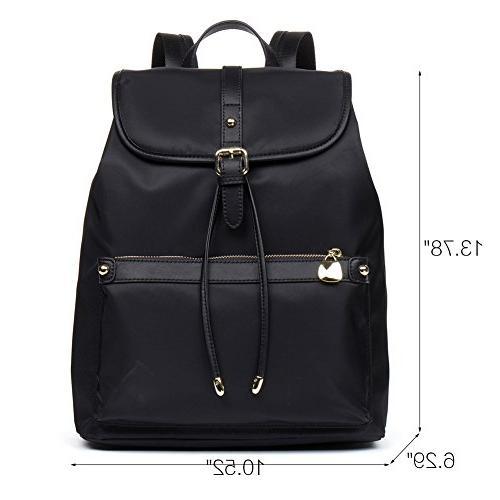 BOSTANTEN Laptop Backpacks Nylon Black