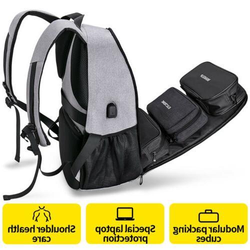 Waterproof Laptop Backpack Business Bag Rucksack