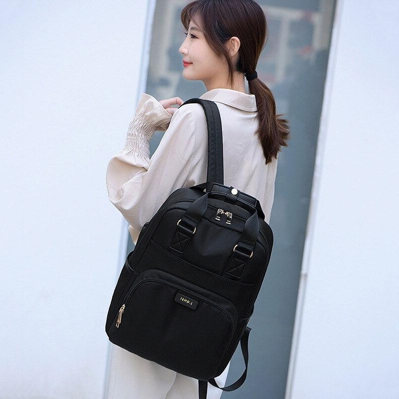 Litthing Waterproof <font><b>Backpack</b></font> <font><b>Backpack</b></font> 13-15.6 Black