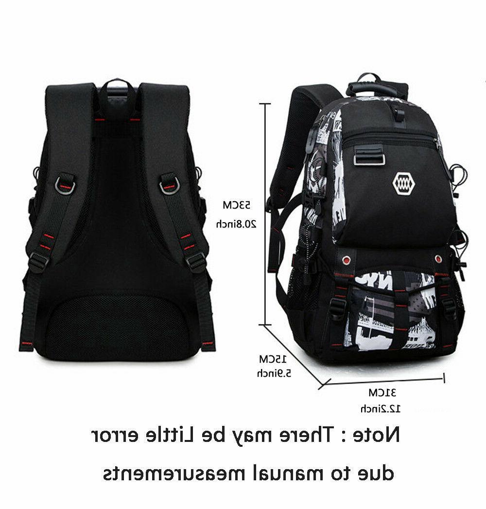 Waterproof Swiss Travel School Bag