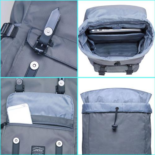 Waterproof Laptop Rucksack Bag Hiking Bag KAUKKO