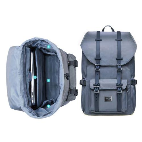 Waterproof Travel Laptop Backpack Rucksack School Hiking Bag
