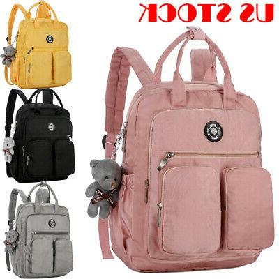 Backpack Women Canvas Travel Bookbags Girls Teenage for Bags