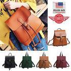 Fashion Women's Backpack Travel PU Leather Handbag Rucksack