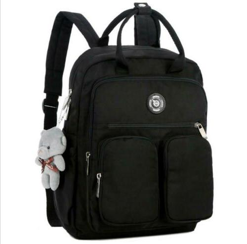 Women Student Backpack Bag Rucksack