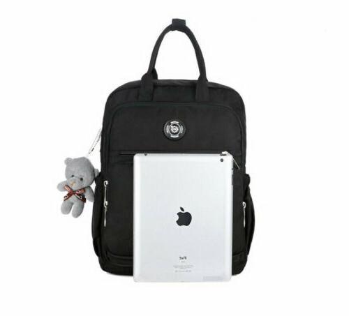 Women Student Backpack School Bag Rucksack