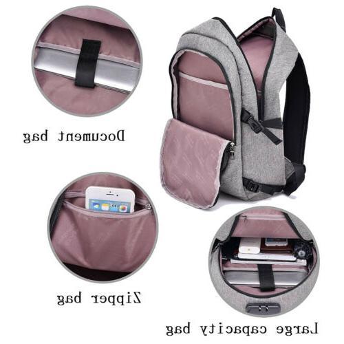 Backpack Port Bookbag Laptop Bag