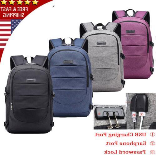 women men anti theft travel backpack usb