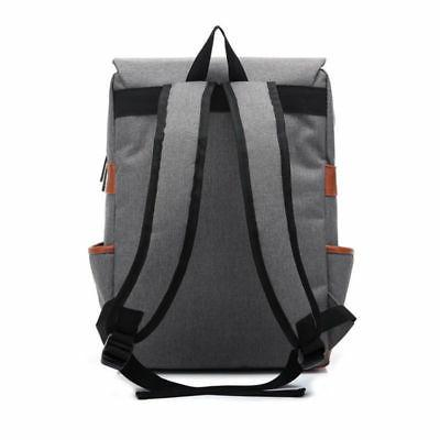 Women Canvas Travel Backpack Satchel Rucksack Laptop