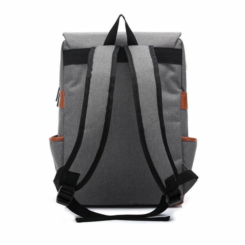 Girl Leather Travel Rucksack Laptop Bag