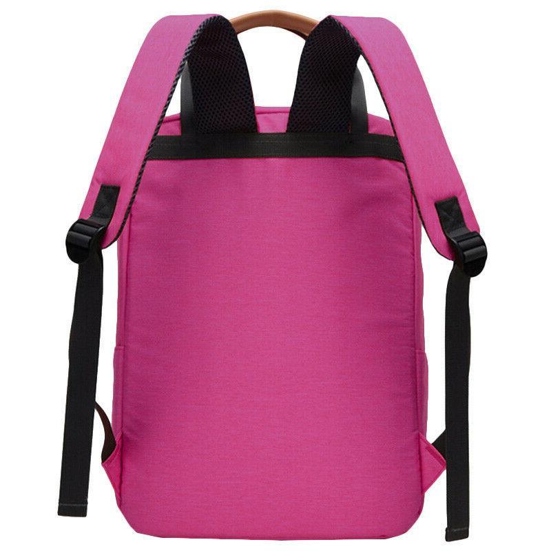 Women Canvas Travel Backpack Rucksack Laptop Shoulder Satchel New