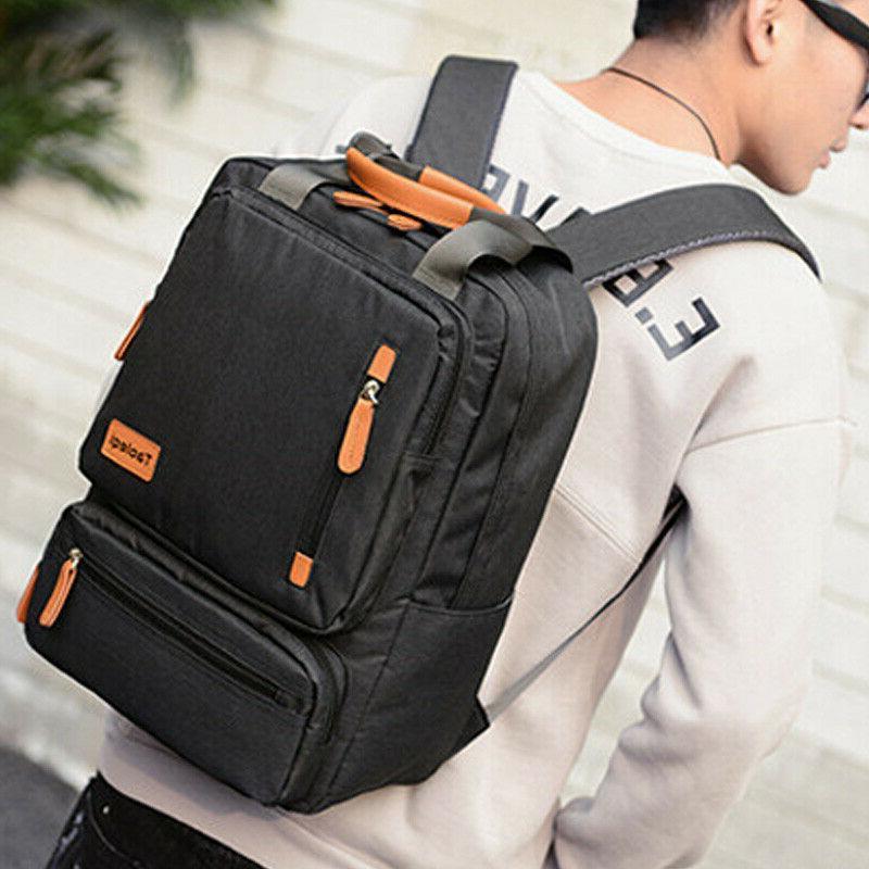 Women Backpack Laptop Shoulder Bag