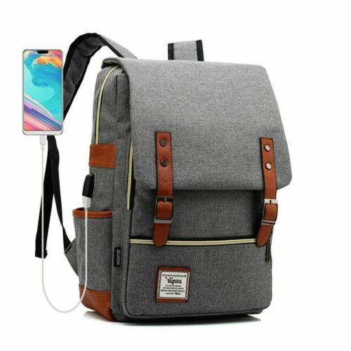 Women Leather Backpack Satchel Rucksack Laptop