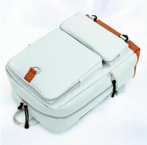 Women's Canvas Travel Laptop Satchel Shoulder
