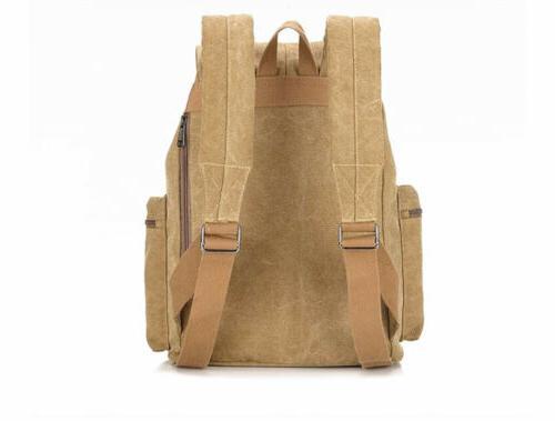 Women's Laptop Canvas Synthetic Backpack School