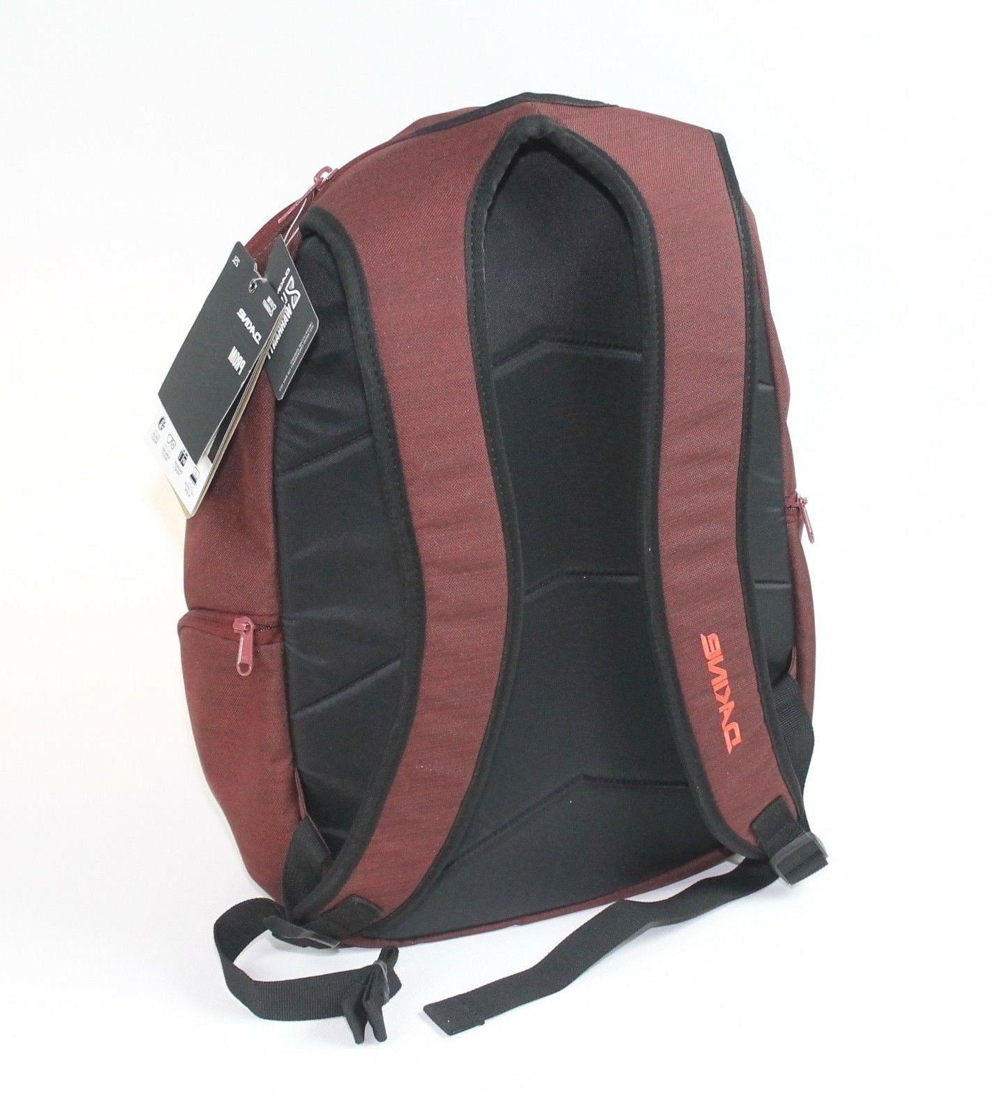 Dakine Prom Burntrose Red Backpack Bag
