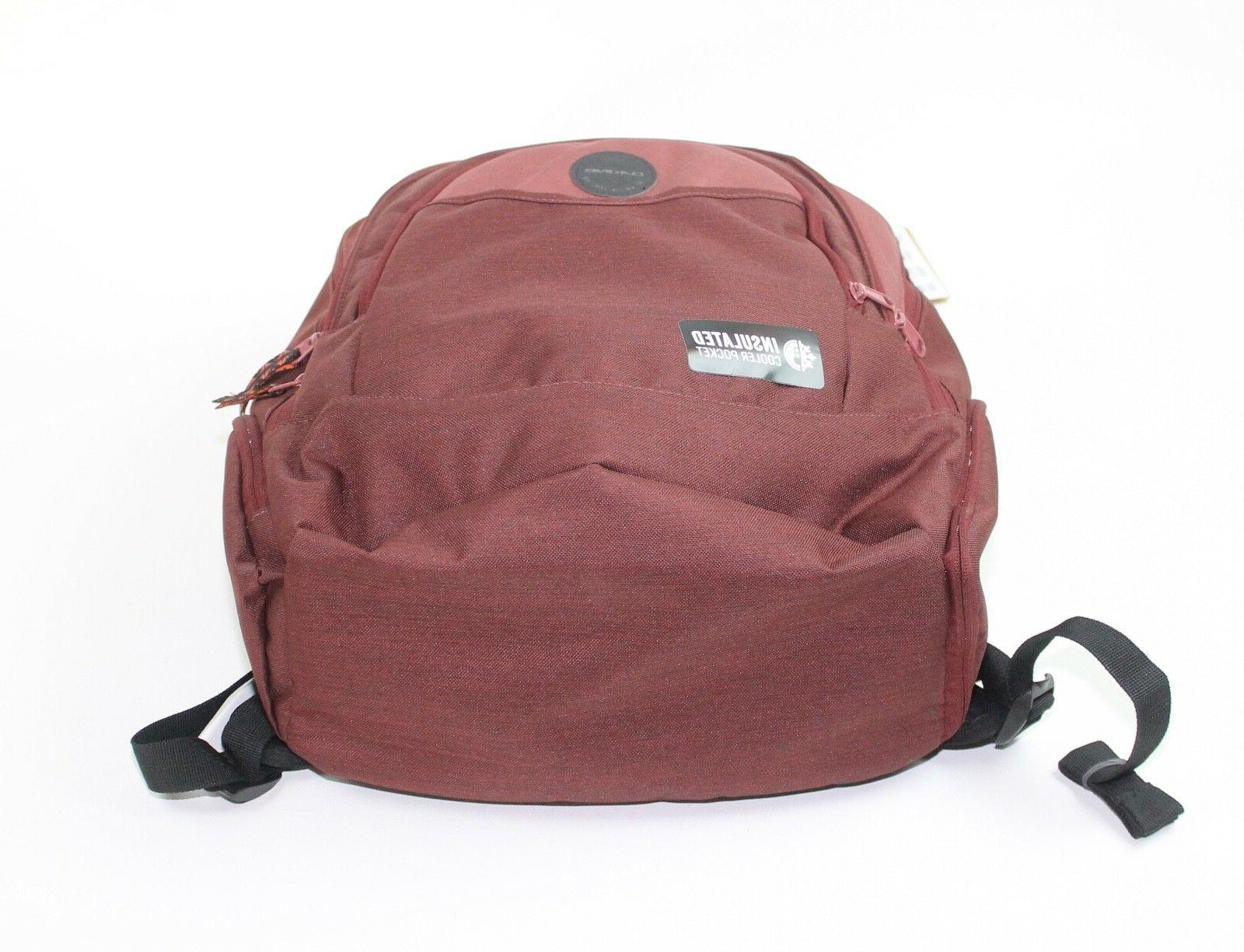 Dakine Burntrose Red Laptop Bag New