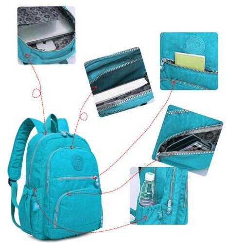 Women Backpack Laptop Bag Waterproof Outdoor Daypack