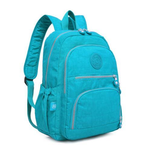 Women Backpack Bag Nylon Outdoor Daypack