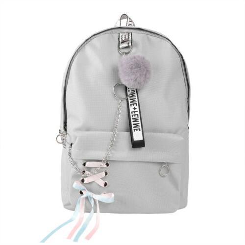 Women School Bags Travel Laptop Girls Shoulder Rucksack Waterproof