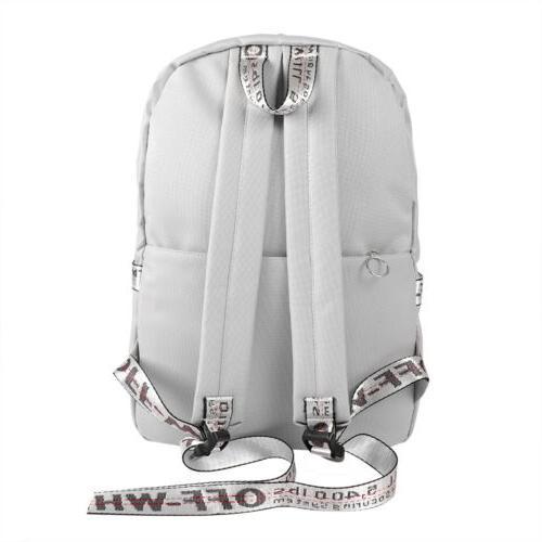 Women School Bags Laptop Rucksack Waterproof