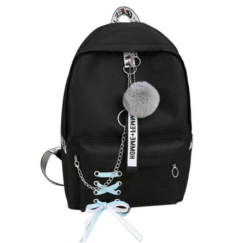 Women Bags Travel Laptop Shoulder Backpack Rucksack Waterproof