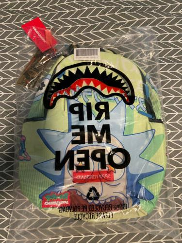 Sprayground Morty Look At Backpack. NEW Bookbags