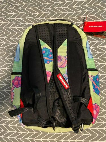 Sprayground Rick and Morty Look At Me Backpack. Bookbag Bookbags