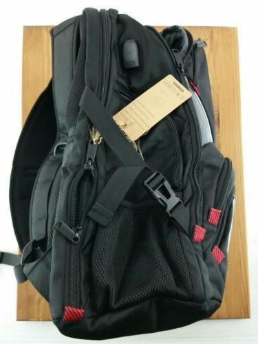 Mancro Backpack Fits USB Water Resistant